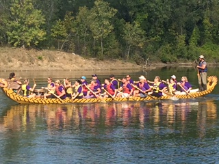 Dragon Boat Team Just Row With It