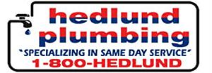 marketing budget. Hedlund logo